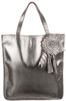 Anya Hindmarch Leather Tassel Tote