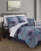 Jessica Sanders Paradigm Reversible 12-Pc. Queen Comforter Set