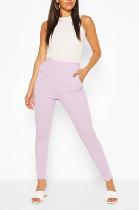 boohoo Pastel Pocket Detail Casual Skinny Trousers