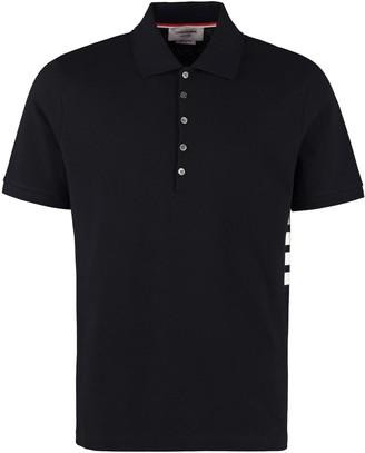 Thom Browne Short Sleeve Cotton Polo Shirt