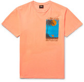 Stussy Eventide Printed Cotton-Jersey T-Shirt