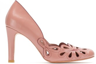 Belle Epoque Sarah Chofakian leather pumps