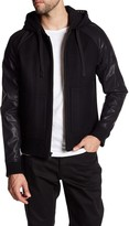 Rogue Faux Leather Varsity Jacket