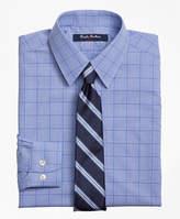 Brooks Brothers Non-Iron Supima® Cotton Broadcloth Plaid Dress Shirt