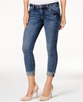 KUT from the Kloth Amy Dominant Wash Crop Straight-Leg Jeans
