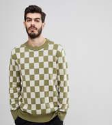 Nudie Jeans Elof Checkerboard Sweater