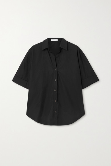 Faithfull The Brand Net Sustain Marquis Cotton-poplin Shirt