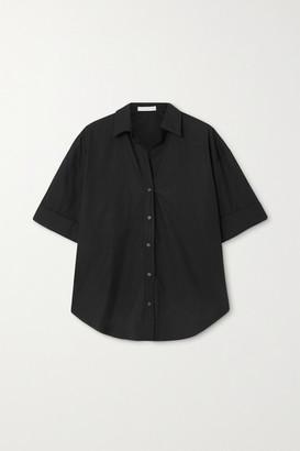 Faithfull The Brand + Net Sustain Marquis Cotton-poplin Shirt - Black