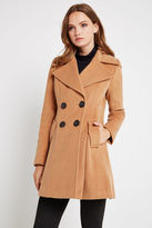 BCBGeneration A-Line Coat - Tan