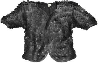 Krizia Black Glitter Jacket for Women