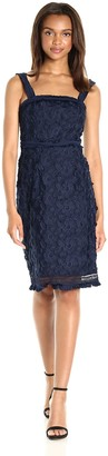 Trina Turk Women's Energetic Embroidered Floral Dress