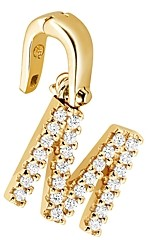 Michael Kors Custom Kors 14K Gold-Plated Sterling Silver Letter Charm