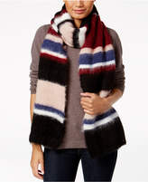 Steve Madden Striped Brushed Scarf