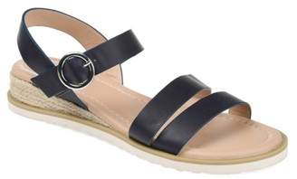 Journee Collection Nikki Espadrille Wedge Sandal