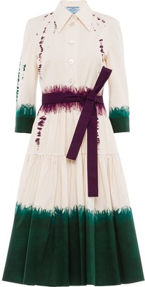 Prada Dip-Dye Shirt Dress