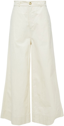 Bassike Cotton-canvas Wide-leg Pants