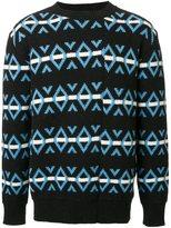 Raf Simons striped jumper - men - Wool - XS