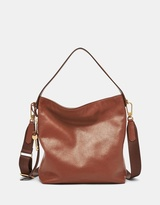 Fossil Maya Brown Hobo Bag