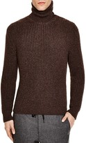 Z Zegna Purl Stitch Slim Fit Turtleneck Sweater - 100% Exclusive
