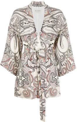 Etro Paisley Kimono Jacket