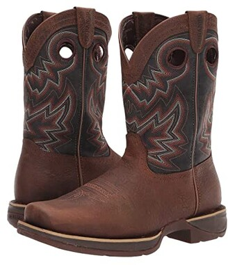 Durango Rebel 11 Western (Chocolate/Black Eclipse) Cowboy Boots