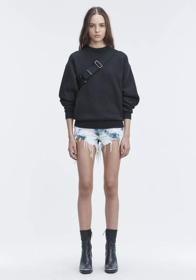 Alexander Wang ROMP SHORTS DENIM