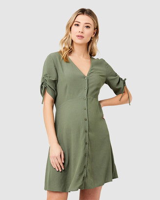 Ripe Maternity Mae Button Through Dress