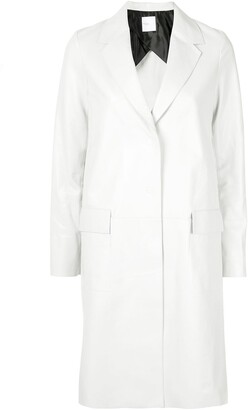 Rosetta Getty Tailored Single-Breasted Coat