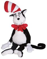 Toddler Manhattan Toy Dr. Seuss The Cat In The Hat Jumbo Stuffed Animal