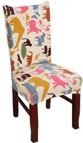Zerci Chair Covers-Dining Room Chair Slipcovers-Stretch Removable Chair Protectors