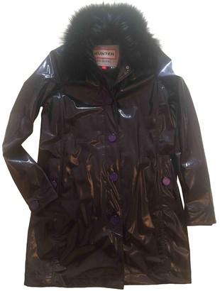 Hunter Purple Coat for Women