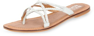 Bullboxer Women's 308005I1L Loafers White (White Whit) 3.5 UK