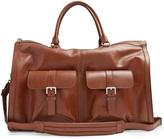 Brunello Cucinelli Grained-leather travel bag