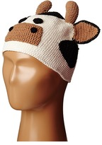 San Diego Hat Company Kids Cotton Crochet Cow Beanie (Toddler/Little Kids)