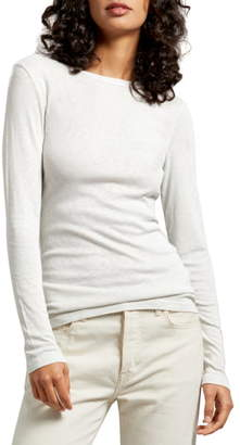 Michael Stars Kristen Long Sleeve Crewneck Tee