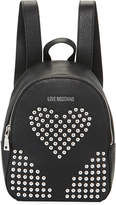 Love Moschino Borsa Studded Heart Backpack Bag