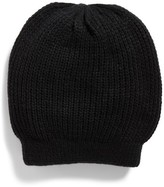 Free People Women's Everyday Slouchy Beanie - Black
