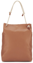 Paul Smith Women's Medium Paper Tote Bag Tan