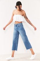 BDG Cropped Denim Culotte - Indigo