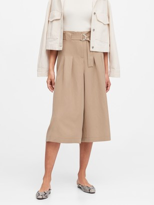Banana Republic High-Rise Culottes