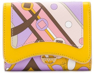 Emilio Pucci Abstract Print Wallet