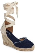 Soludos Women's Wedge Lace-Up Espadrille Sandal