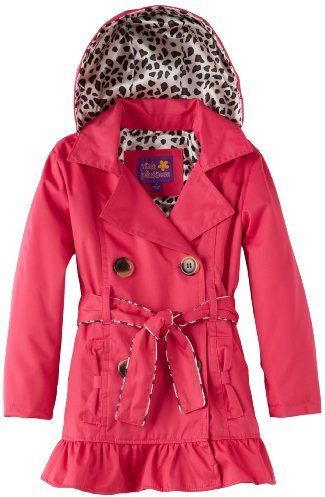 Pink Platinum Girls 2-6X Evie's Trench