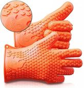 Martha Stewart Ekogrips Max Heat Silicone Bbq Grill Oven Gloves - Best Heat Protection - Des...