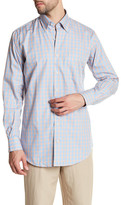 Peter Millar Regular Fit Spring Pane Sport Shirt