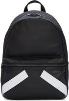 Neil Barrett Black Retro Modernist Backpack