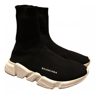 Balenciaga Speed Black Cloth Trainers