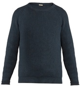 Massimo Alba Boma Ribbed-knit Cotton Sweater