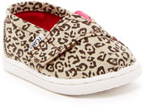 Toms Metallic Canvas Leopard Slip-On Shoe (Baby, Toddler, & Little Kid)