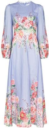 Zimmermann Bellitude floral-print dress